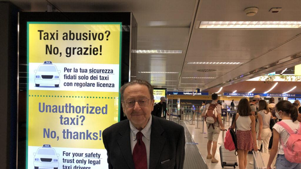campagna comunicazione contro i tassisti abusivi - regione lombardia - 028585
