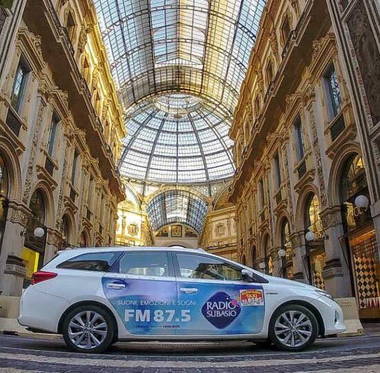 sponsorizzare un mezzo di trasporto Milano
