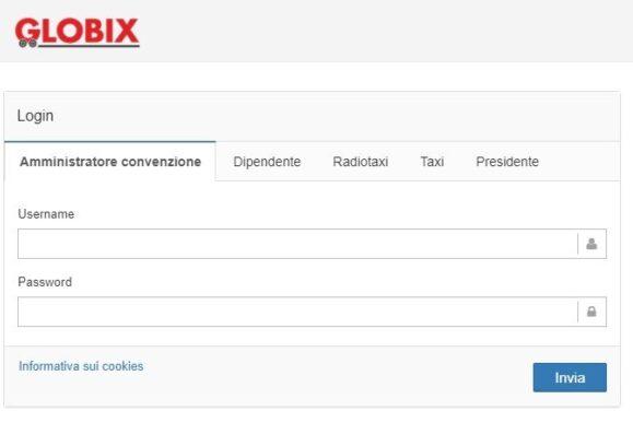 globix - abbonamento taxi attivo a roma, milano e torino