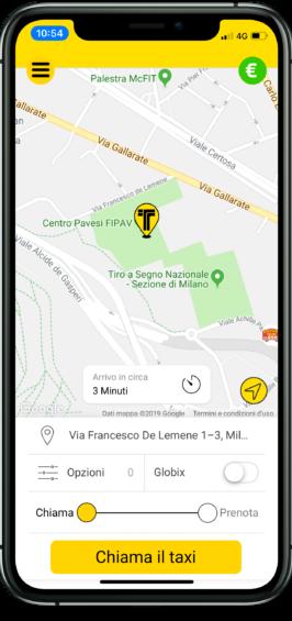 come funziona la prenotazione di taxi online con la app Intaxi ? scaricala subito su Appstore o playstore
