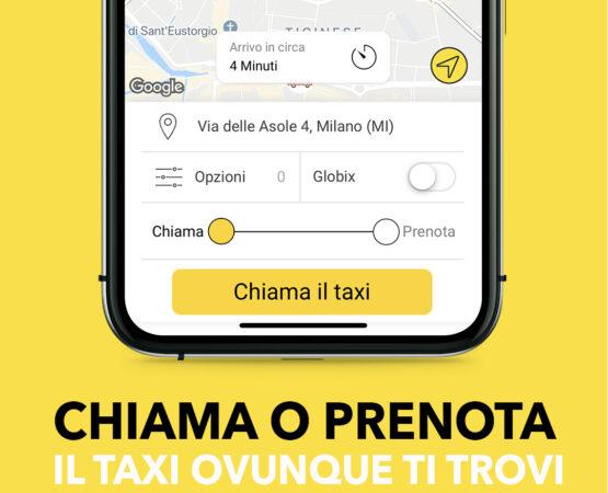 prenotazione taxi a milano