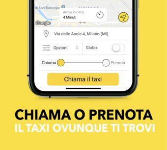 taxi per milano - applicazione Intaxi - disponibile per IOS e Android