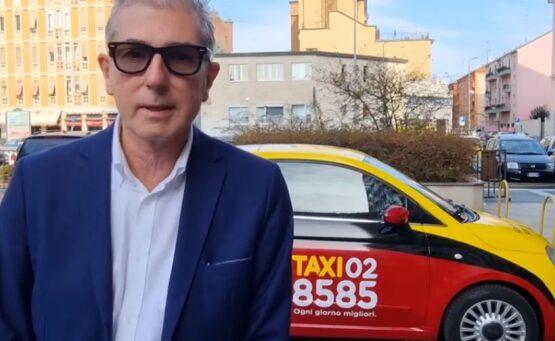 tassista 028585 - milano radio taxi - installazione telecamere sui taxi